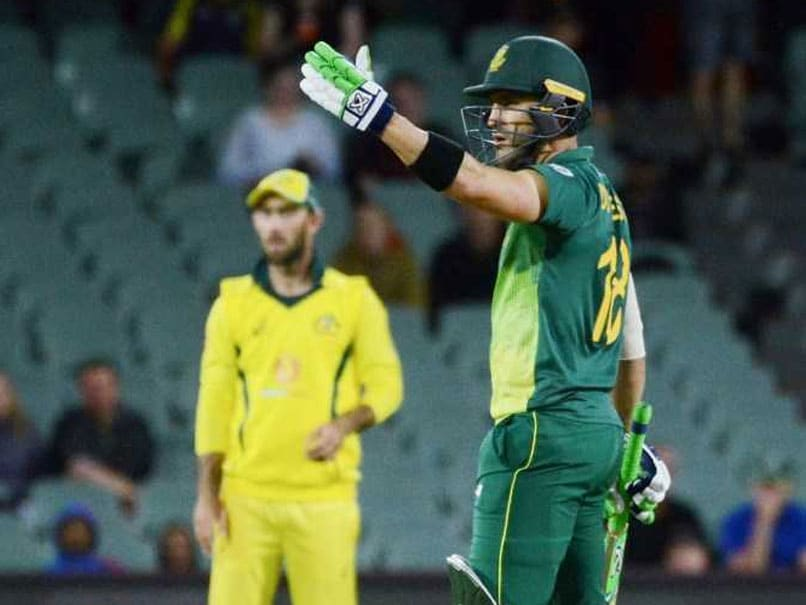 Du Plessis signals T20I retirement post 2020 World T20