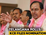 Video : KCR Has Assets Worth Over Rs. 20 Crore, No Car, Says He's An Agriculturist