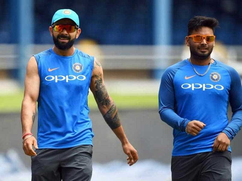 "Virat Kohli Uploads Picture With Rishabh Pant, Calls Him ""Champion"""