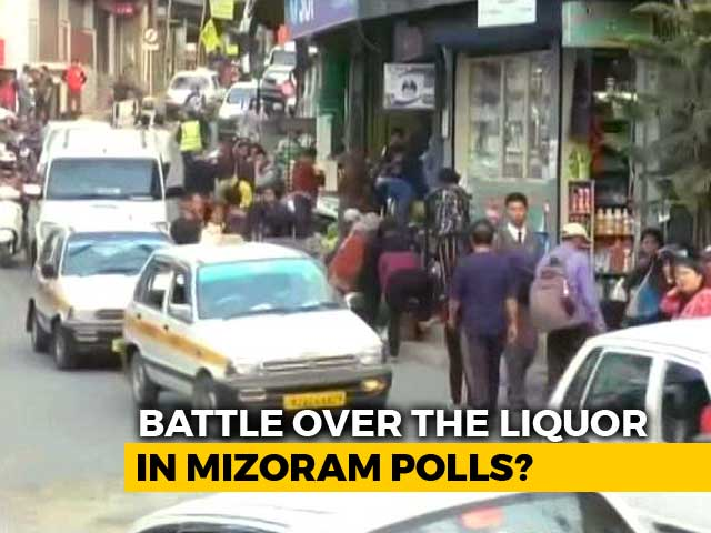 Video : Mizoram Elections: 'Bottle' Could Decide Which Way Ballot Goes