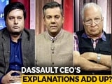 Video : French Jet-Maker Dassault Breaks Silence On Rafale Deal