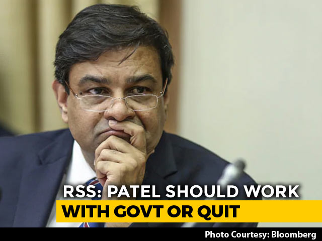 Video : RBI Chief Should Work With Government Or Quit: RSS Economic Wing Head