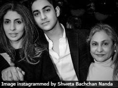 Shweta Nanda's Post Featuring 'Dearly Beloved' Agastya And Jaya Bachchan Totally Rocks