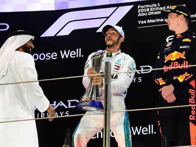 Abu Dhabi Grand Prix: Lewis Hamilton Wins In Fernando Alonsos Farewell GP