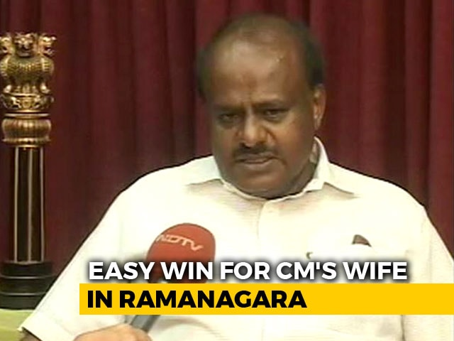 Video : After Win In Bypolls, HD Kumaraswamy 'Ready To Sacrifice For Congress In 2019'