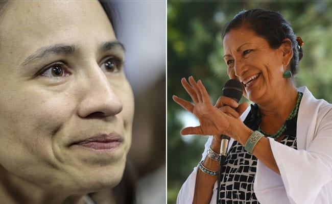 In A First, 2 Native American Women Elected To Congress In Midterm Polls