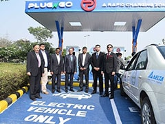 EV Motors Launches Its First Public Charging Outlet In Delhi-NCR