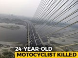 Video : Biker Killed On Delhi's Signature Bridge, Third Death In 2 Days