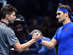 Roger Federer Downs Dominic Thiem To Keep ATP Finals Bid Alive
