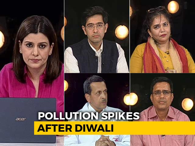 Video : Pollution Spikes After Diwali: Fireworks Order Backfires?