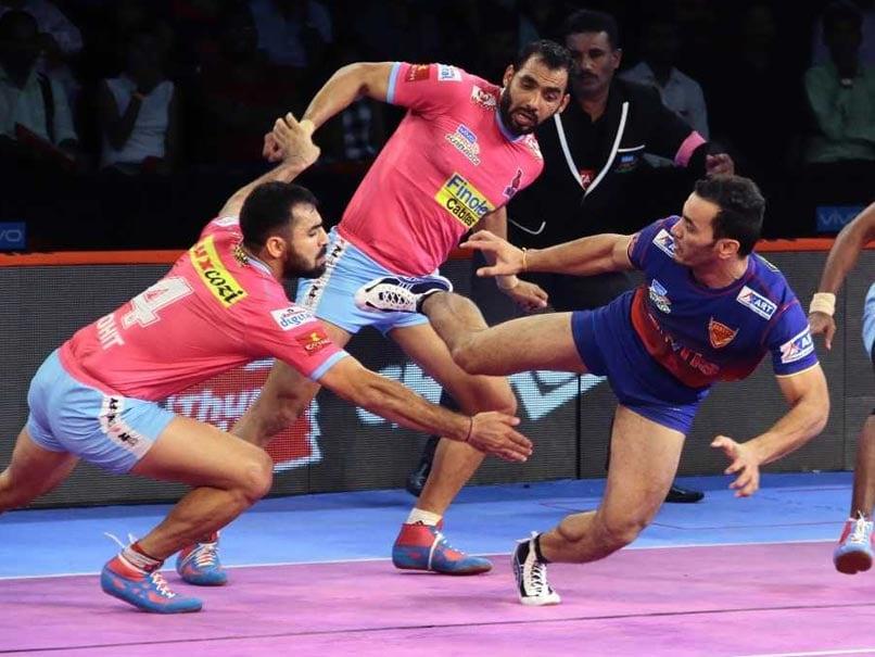 PKL: Dabang Delhi Hammer Jaipur Pink Panthers, Haryana Steelers Defeat U Mumba