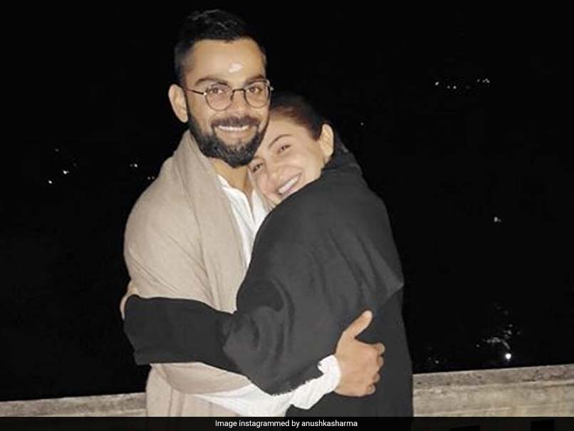 Anushka Sharma wrote with a photograph with Virat Kohli, 'Thank God For His Birth'