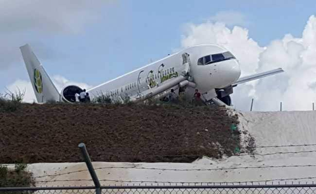 Boeing Jet Crash-Lands At Guyana Airport, 10 Injured