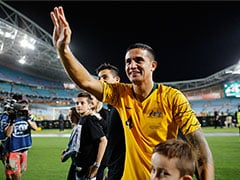 Veteran Tim Cahill Makes Emotional Australia Swansong
