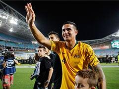 Veteran Tim Cahill Makes Emotional Australia Swansong