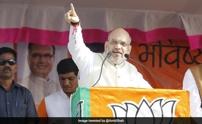 Congress Has Misgoverned From Panchayat To Parliament: Amit Shah