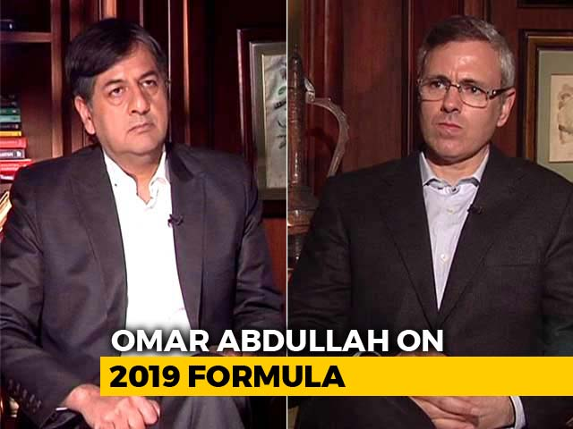 "Video : ""Governor Can't Decide What's Holy And Unholy"": Omar Abdullah To NDTV"