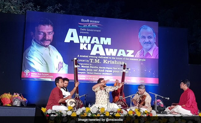 After Carnatic Singer's Delhi Concert Cancelled, AAP Makes It Happen