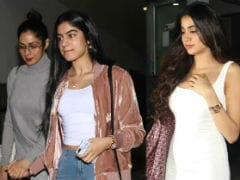 Khushi And Janhvi Kapoor Bring Back Sridevi Memories With Their Wardrobe Choices