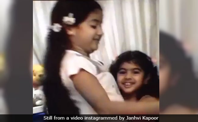 Janhvi Kapoor Dug Up Old Video On Khushi's Birthday To Prove How She Was 'Bullied' By Her Baby Sister