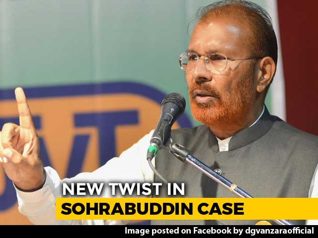 Video : DG Vanzara Wanted Ex-Minister Dead, Sohrabuddin Got Contract: Witness