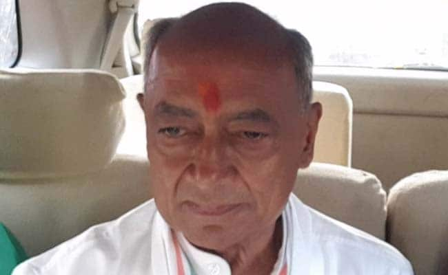 انتخابات میان دوره ای نماینده مجلس: توضیحات کنگره درباره کلیپ صوتی ادعایی Digvijay Singh-