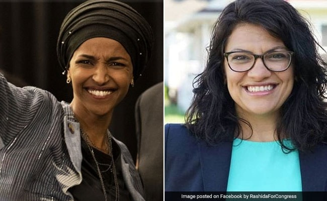 Image result for Rashida Tlaib and Ilhan Omar