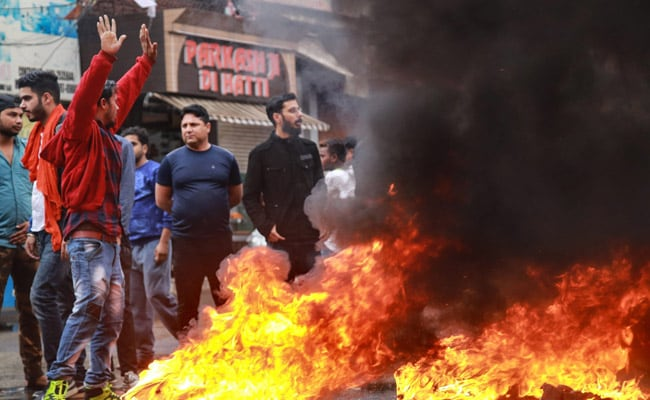 Massive Protests In Jammu Over Killing Of BJP Leader, Brother