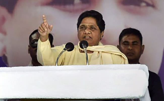 Mayawati Says PM Modi's Interview 'Focussed Only Around His Party'