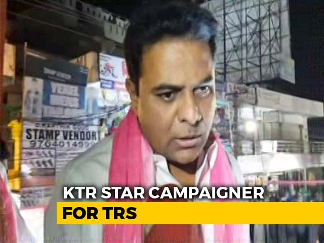 "Video : ""KCR Is Like Virat Kohli, Will Score A Hundred In Telangana Polls,"" Says Son"