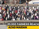 Video : Thousands Of Farmers Reach Mumbai To Demand Loan Waiver, Aid