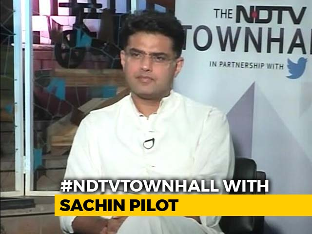 Video : Important to Win, Doesn't Matter Who Will Be Chief Minister: Sachin Pilot