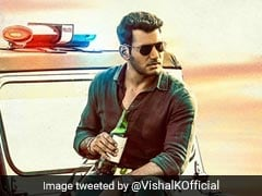 "Tamil Actor Vishal Poses With ""Beer Bottle"" On Movie Poster, Draws Flak"
