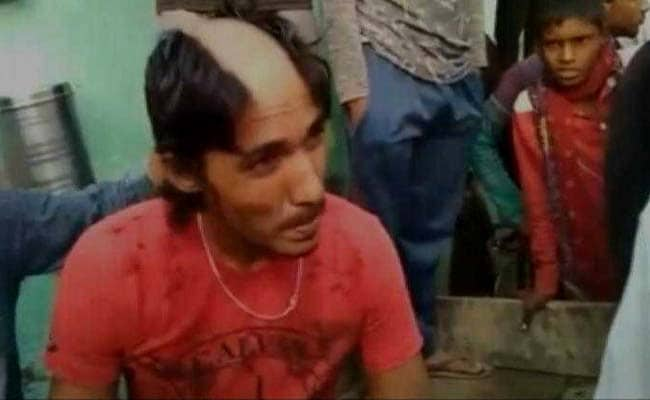 UP Man's Hair Shaved Off For Allegedly Posting Morphed Pics With Girls