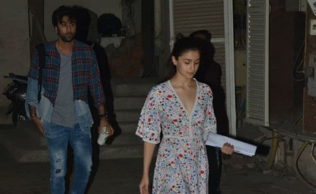 Post-Diwali, Brahmastra Is Keeping Alia Bhatt And Ranbir Kapoor Busy