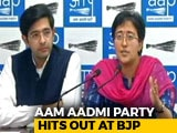 Video : Will Delhi Police File Complaint Against Manoj Tiwari? Asks AAP