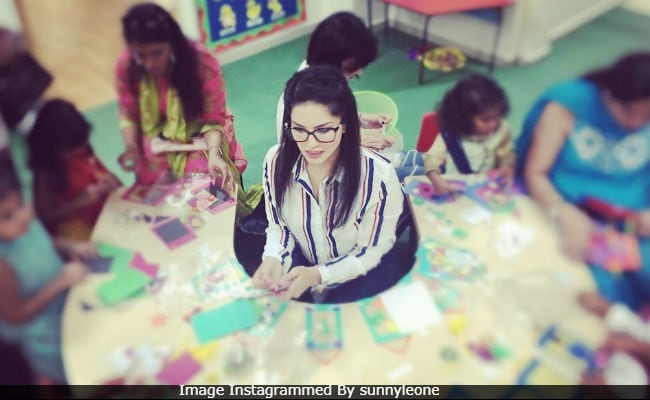 Sunny Leone 'Had A Blast' With Daughter Nisha And Her Friends At Diwali School Party