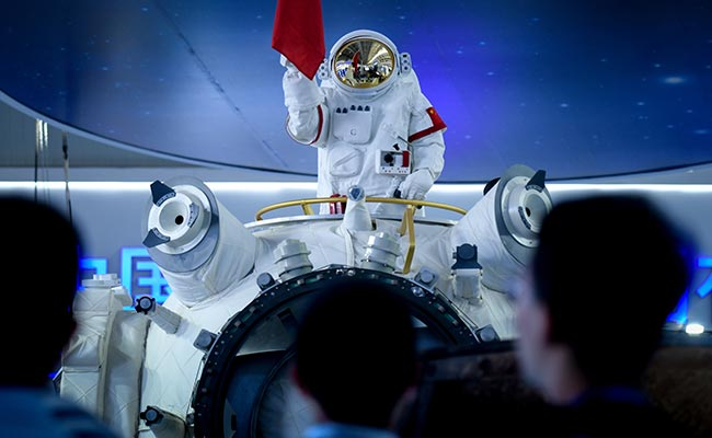 China unveils its future space station