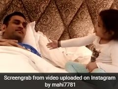 Watch: MS Dhoni's Adorable Interaction With Daughter Ziva In Tamil And Bhojpuri