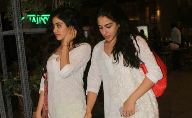 Sara Ali Khan Says 'Everybody Loves Janhvi Kapoor's Work, Hope They Like Mine Too'