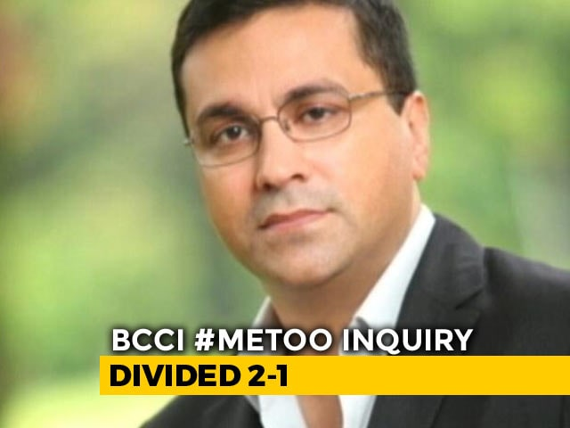 Video: BCCI's Rahul Johri Cleared In Sex Harassment Case, Free To Resume Office