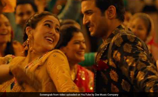 Kedarnath New Song Sara Ali Khan Is Sushant Singh Rajputs Sweetheart