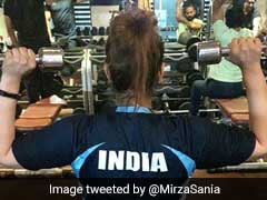 "Sania Mirza Hits The Gym For First Time After Having A Baby, Says She Was ""Like A Kid In Candy Shop"""