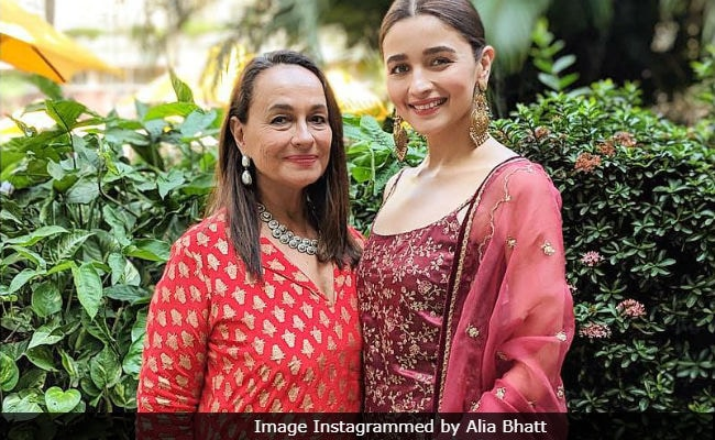Image result for alia bhatt with mother