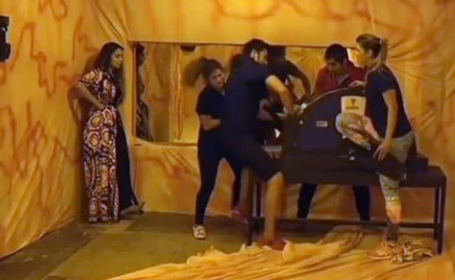 Bigg Boss 12: 'बिग बॉस' में मेघा ने रोहित पर लगाया कोहनी मारने का आरोप, Video में सच आया सामने