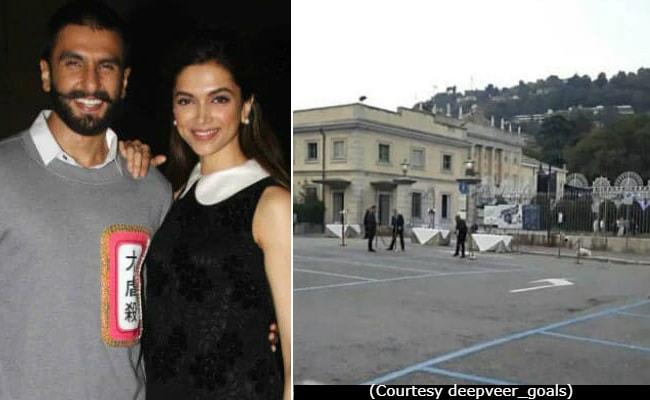 Deepika Padukone, Ranveer Singh's Wedding Venue Is Being Prepped. See Viral Pic