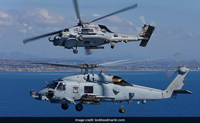 India Wants To Buy 'Romeo' Anti-Submarine Choppers From US For $2 Billion