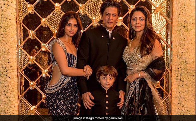 Image result for Shah Rukh Khan's Diwali party 2018