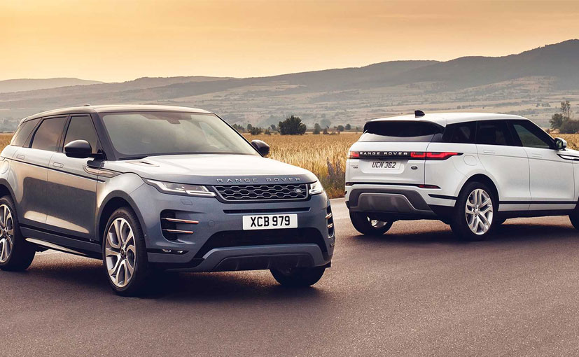 New Evoque unveiled by JLR
