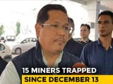 "Video : ""Getting High-Power Pumps Soon"": Meghalaya Chief Minister On Stuck Miners"